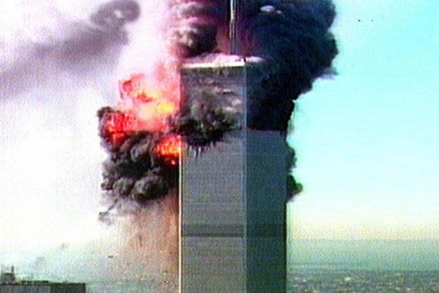 Террористический акт вНью-Йорке 11сентября давно минувшего 2001г. Кадры изархива