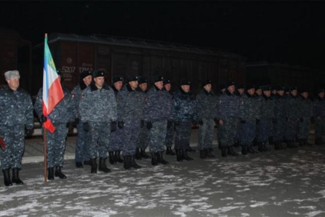 Якутский сводный отряд милиции вернулся изСеверо-Кавказа