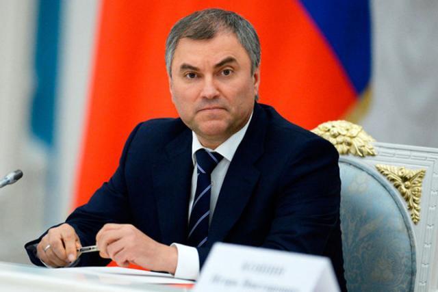 Спикер Государственной думы: РФисходит изтого, что Трамп неотрицал признание Крыма