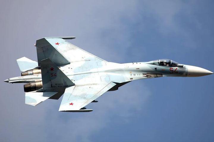 Около секретной военной американской базы вНеваде разбился Су-27