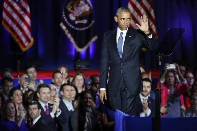 Обама обнародовал  свою статью внаучном журнале