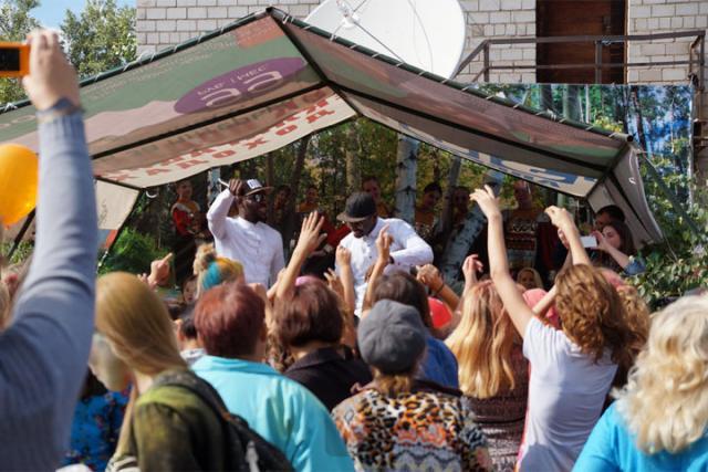 В селе Целинное Ширинского района жители с размахом отметили день села