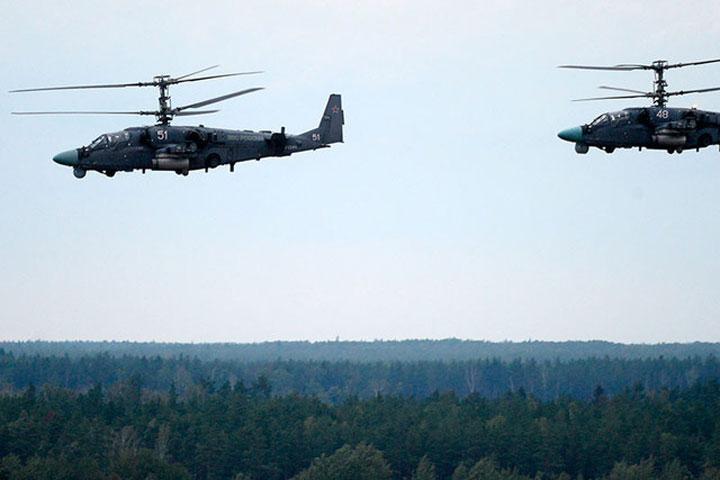 Вовремя учений «Запад-2017» вертолет случайно дал залп позрителям