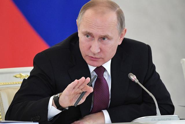 Путин призвал отслеживать изменения баланса сил у русских границ