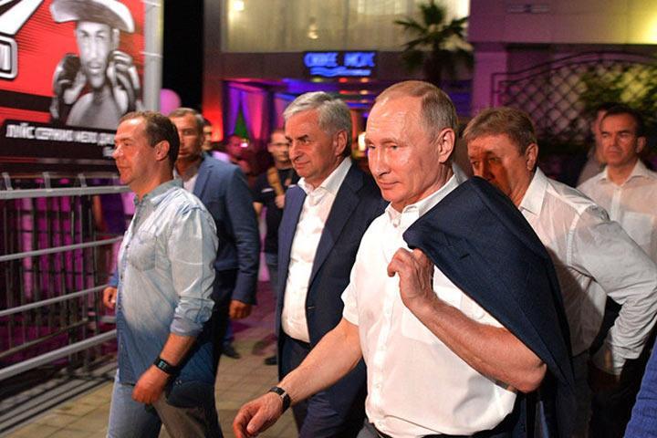 С9августа Путин перестал появляться напублике
