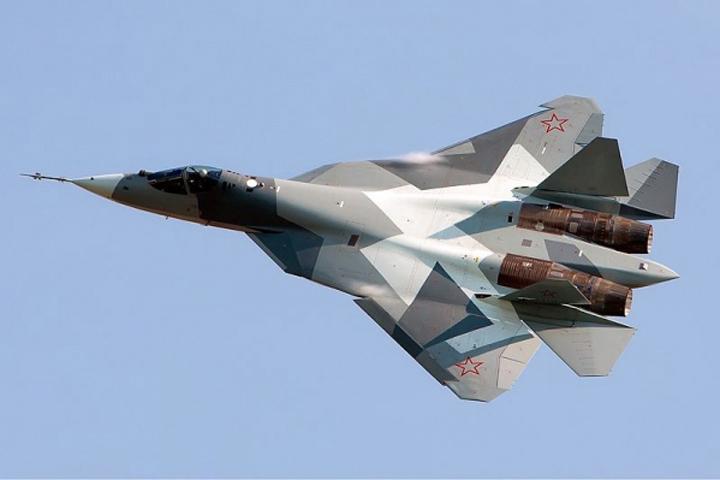 Два русских истребителя Су-57 прилетели вСирию