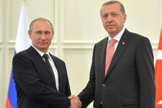 Встреча Владимира Путина иЭрдогана способствует политическому урегулированию вСирии— европейская комиссия