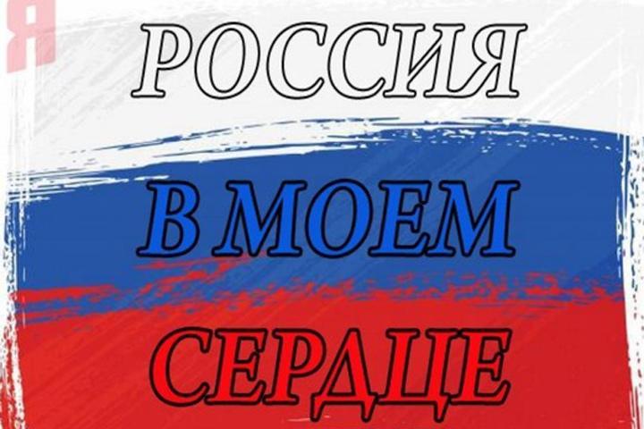 Неменее 500 000 человек приняли участие вакции «Россия вмоем сердце»— МВД
