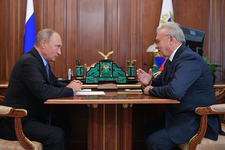 Названа дата визита В. Путина вКрасноярск