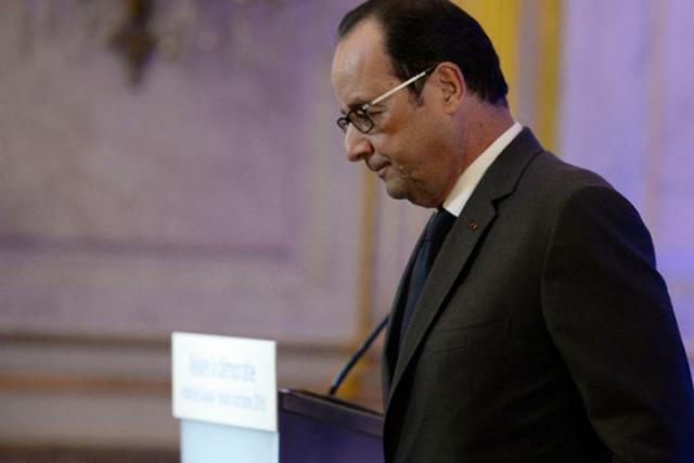 Олланд хочет удостоверить В.Путина закончить поддержу Асада