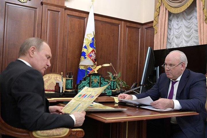 Встреча с президентом добавила главе Хакасии политического влияния