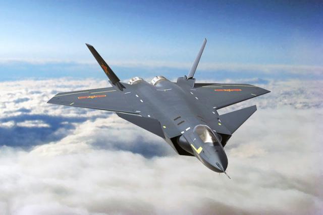КНР представил публике истребитель 5-ого поколения