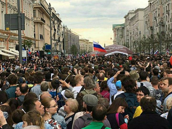 РБК проинформировал о росте социальных иполитических протестов в РФ
