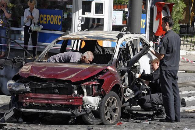 СМИ назвали Шеремета целью взрыва вавтомобиле
