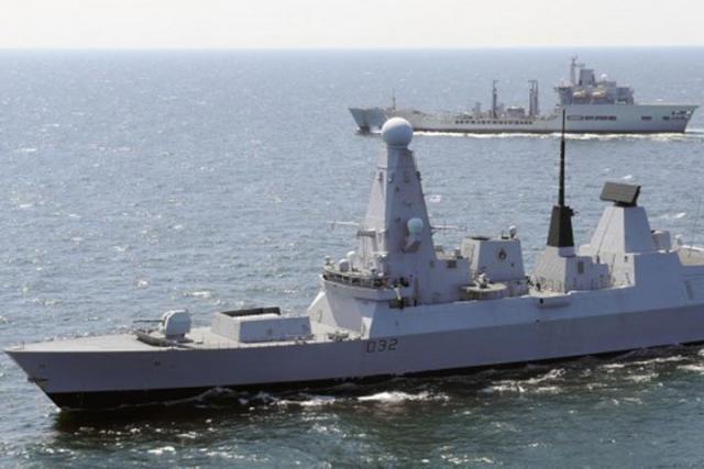 Корабли британского флота вышли навстречу ударной группировке ВМСРФ