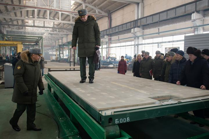 Сергей Шойгу приехал вСибирь