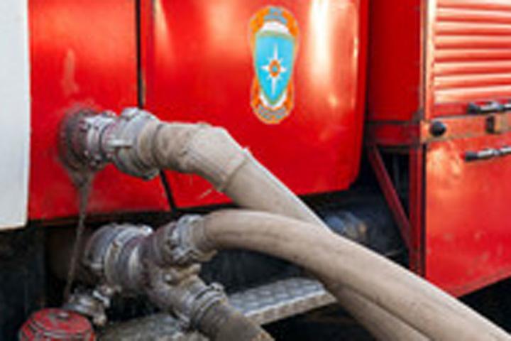 Пожар вдетской областной клинике Твери