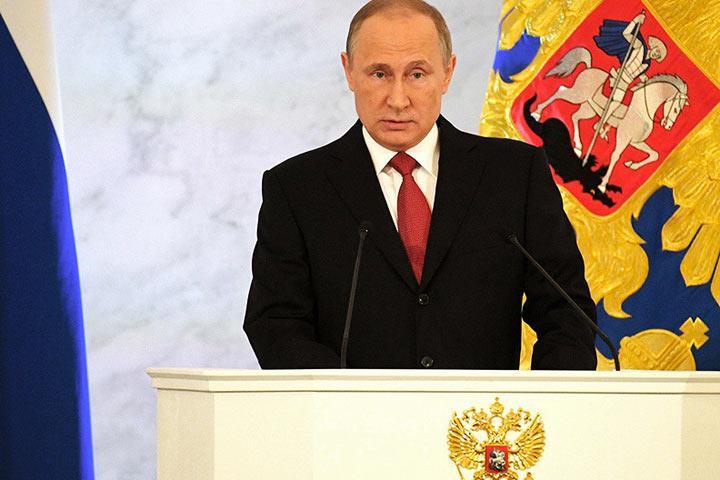 Кремль нераскрыл дату подачи Путиным документов вЦИК