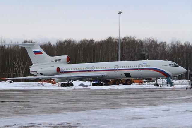 Очевидец проинформировал о «странном» положении Ту-154 перед падением