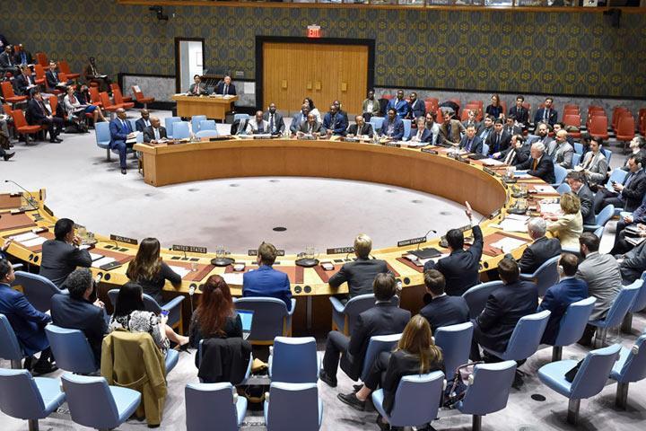 Совбез ООН отвергнул русский проект резолюции поСирии