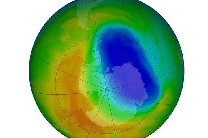 Озоновая дыра над Антарктидой сократилась доразмеров 1988 года