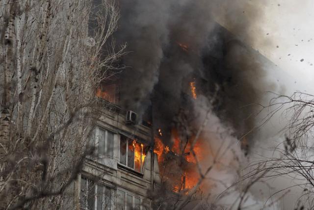 Взрыв в девятиэтажке в Волгограде