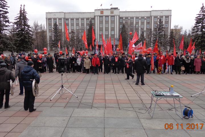 Сегодня отмечается 100-летие содня Октябрьской революции