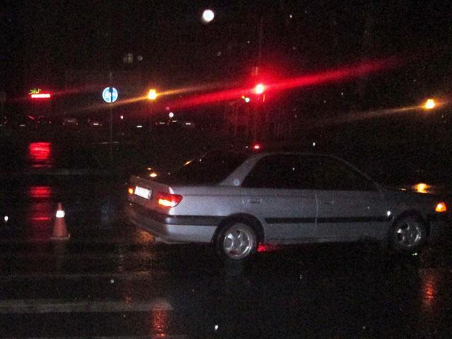 В Абакане ночной пешеход стал жертвой невнимательного водителя