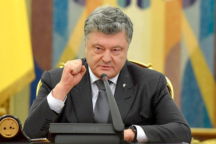 Порошенко подписал указ овыходе Украины изСНГ