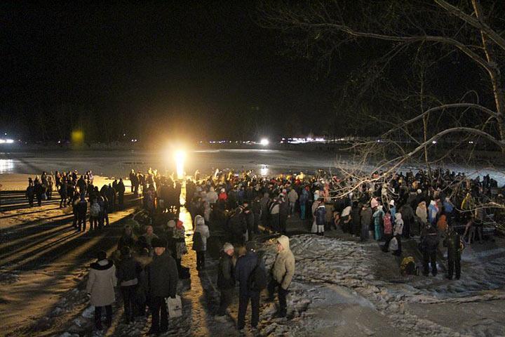 Для жителей столицы устроят онлайн-трансляцию крещенских купаний