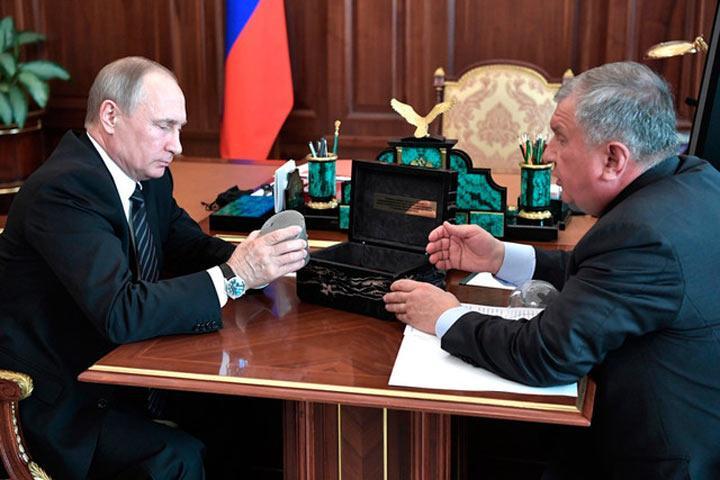 Путин попросил «Роснефть» вернуться кдивидендам 50% отприбыли