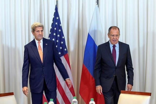 ВЖеневе завершились переговоры Лаврова иКерри, продлившиеся 12 часов