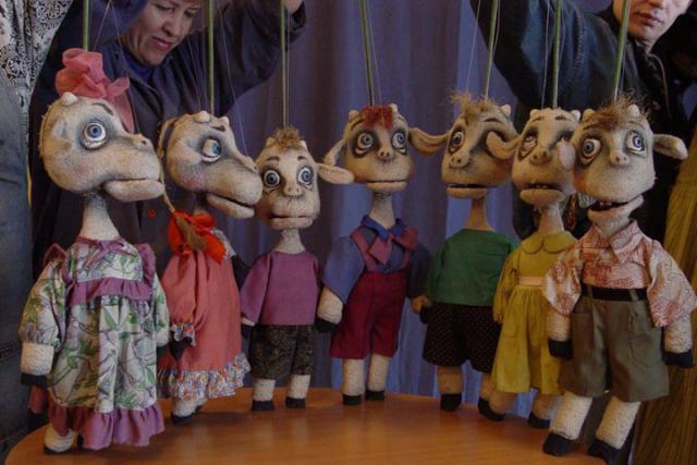 Зрителей Хакасии ожидают завораживающие выступления кукольников