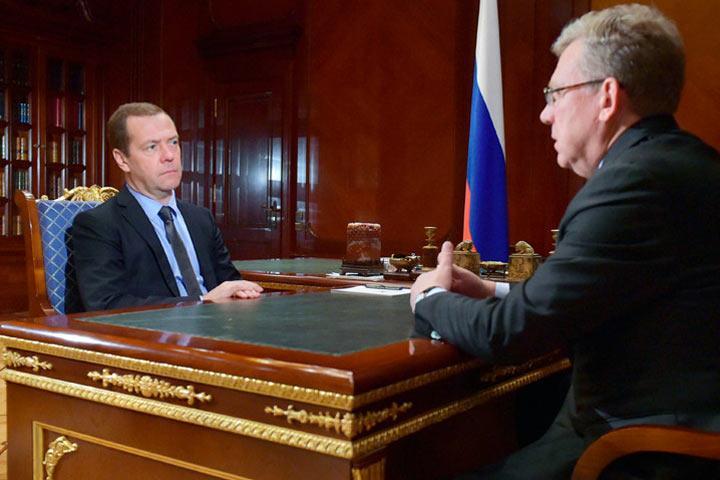Медведев иКудрин обсудят вероятные реформы госуправления