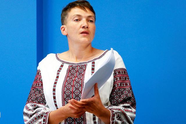 Надежда Савченко вышла изпартии «Батькивщина»