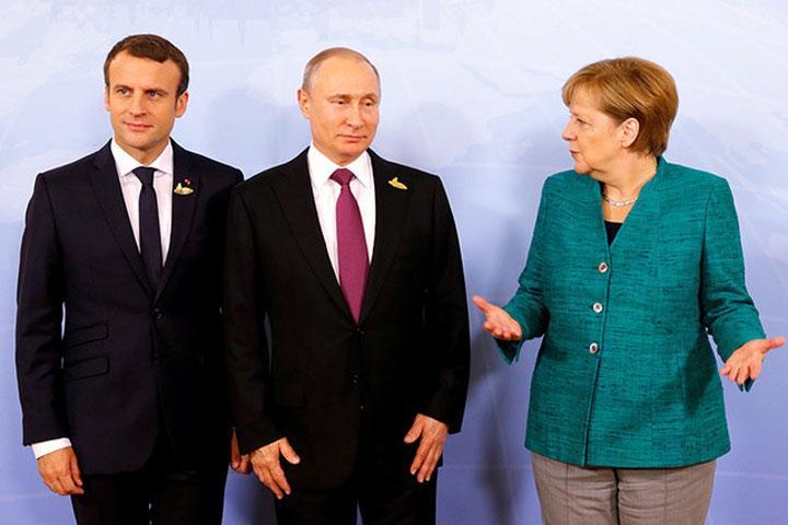 Меркель не желает быть посредником между Трампом иПутиным