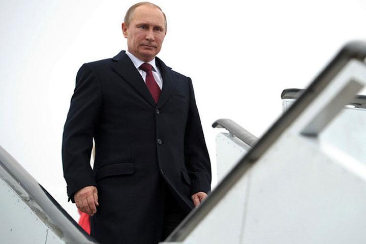 Путин прибыл вБудапешт софициальным визитом