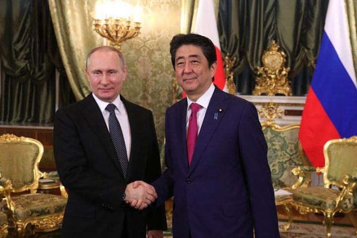 Встреча В.Путина иАбэ: японцы превратят Воронеж вгород будущего