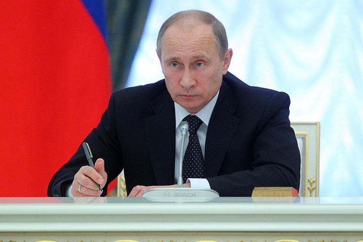 Путин объявил 27марта Днем войск государственной гвардии