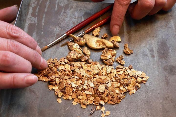 Предприятие вХакасии нелегально добывало золото исеребро