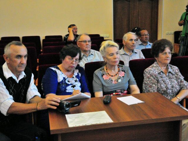 Президиум совета ветеранов Хакасии нагрянул с проверкой в Аскизский район
