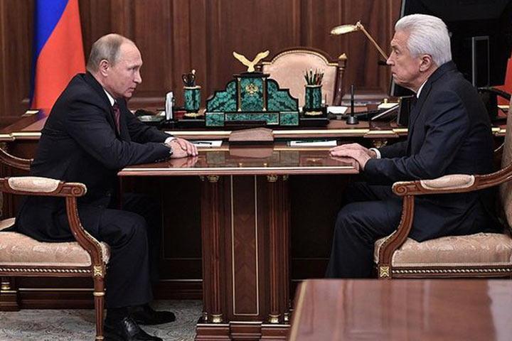 Вячеслав Володин оврио руководителя Дагестана: «Его отличают порядочность ипрофессионализм»