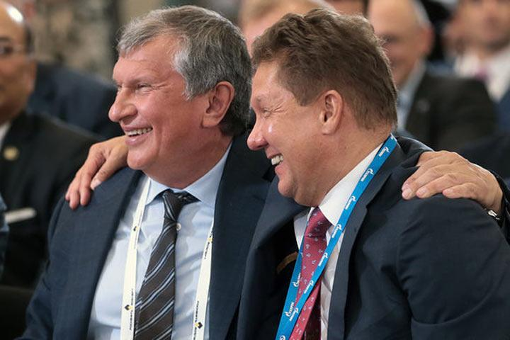 «Роснефтегаз» недал руководству  прогноз прибыли отдивидендов «Роснефти»