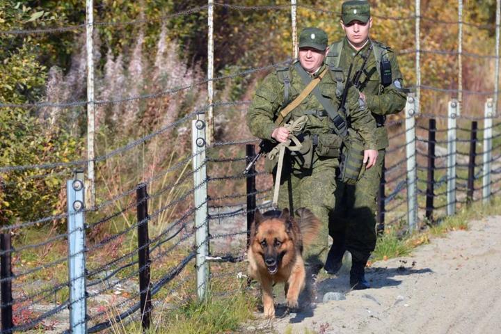 День пограничника в РФ