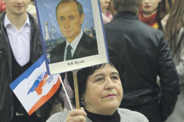 Путин оновом президентском сроке: Время придет