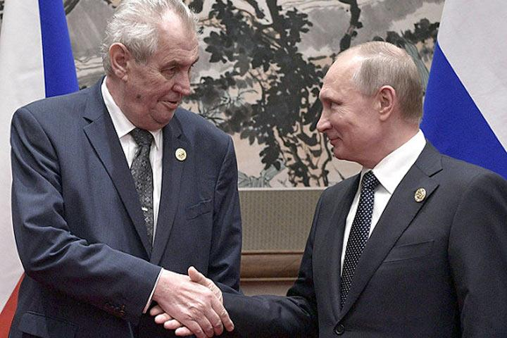 Чешский президент объявил оподдержке возведения «Северного потока— 2»